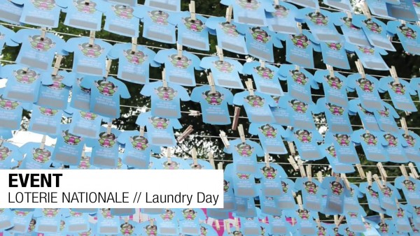 EVENT // LOTERIE NATIONALE // Laundry Day