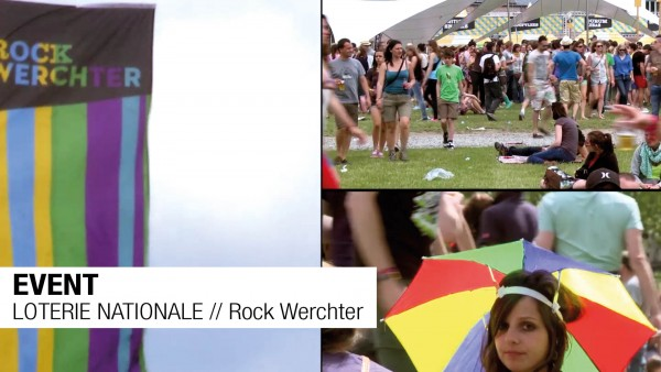 EVENT // LOTERIE NATIONALE // RockWerchter