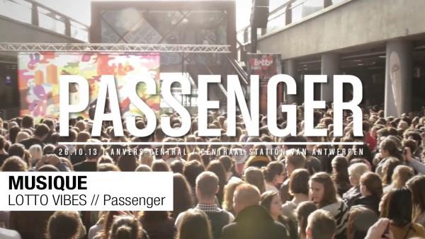 MUSIQUE // LOTTOVIBES // Passenger