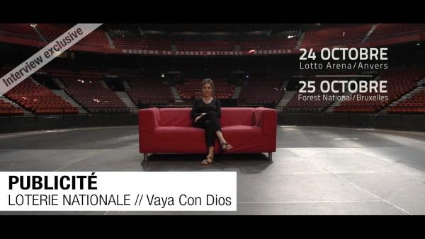 PUBLICITÉ // LOTERIE // Vaya Con Dios