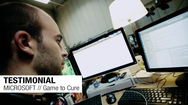 TESTIMONIAL // MICROSOFT // Game to Cure